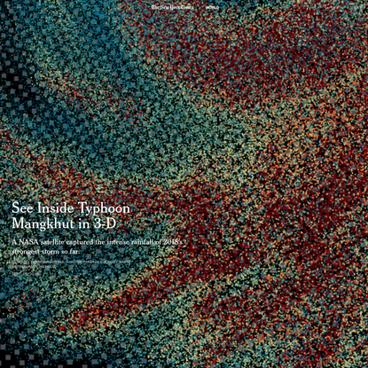 See Inside Typhoon Mangkhut in 3-D
