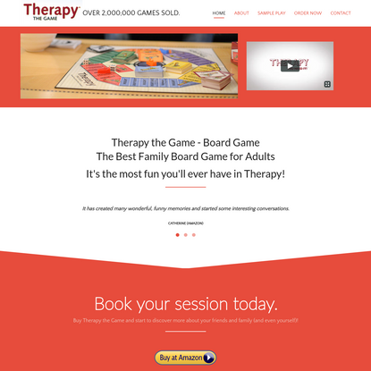 Best Selling Family Board Games & Gift-Therapy the Game