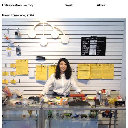 Pawn Tomorrow - Extrapolation Factory