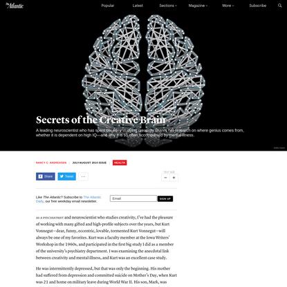 Secrets of the Creative Brain