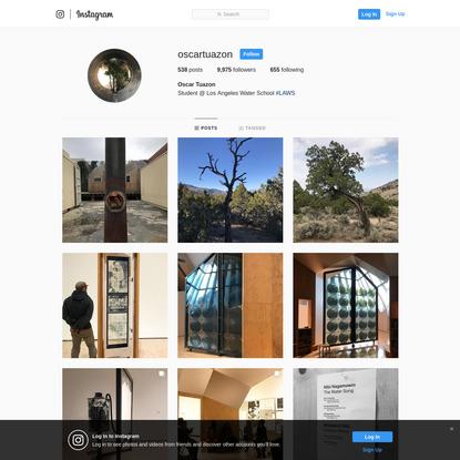 Oscar Tuazon (@oscartuazon) * Instagram photos and videos