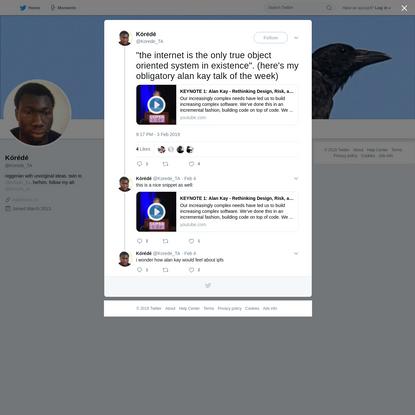 Kórédé on Twitter