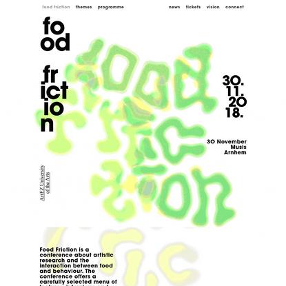 Food Friction