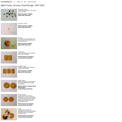 food-designing food