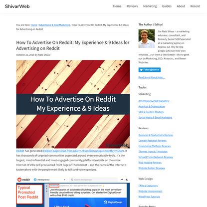 How To Advertise On Reddit: My Results & Ideas for Using Reddit