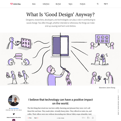 Good Design Isn't Just Pretty, It's Socially Conscious