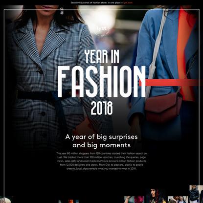 Year in Fashion 2018 - Lyst