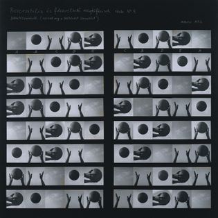 Dóra Maurer, Reversible and changeable phases of movement etude, 1973