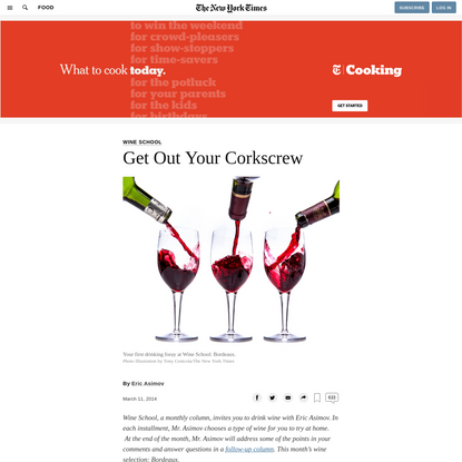 Get Out Your Corkscrew