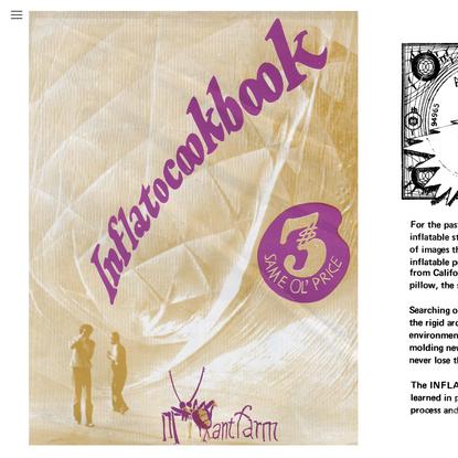 Inflatocookbook