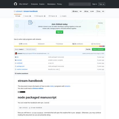 substack/stream-handbook