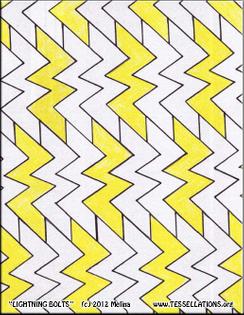Lightning Bolts tessellation