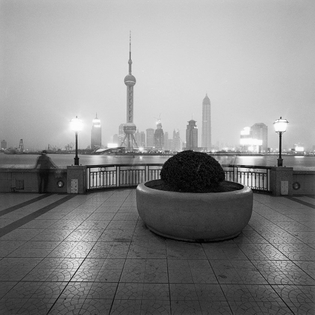 Pudong seen from The Bund, Shanghai (1997)