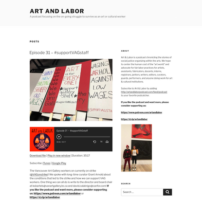 Art and Labor