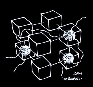 Tamiko Thiel - Connection Machine Hypercube