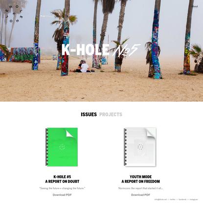 K-HOLE