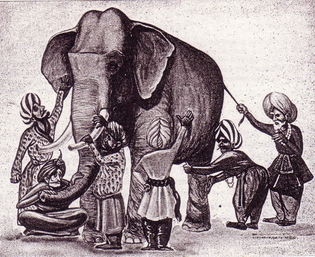 The Elephant and the blind Men