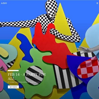 A/D/O   Homepage