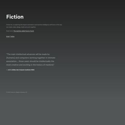 Fiction Inc