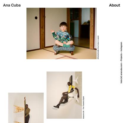 Ana Cuba, photographer