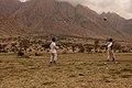 Boy are playing football at Jabal Elba ,Egypt.jpg