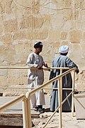 Wiki loves Africa Luxor Guards Egypt Hagar Mokhtar.jpg