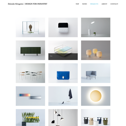 PROJECTS - Daisuke Kitagawa | DESIGN FOR INDUSTRY