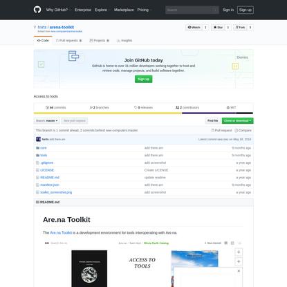 hxrts/arena-toolkit