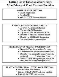 Emotional mindfulness
