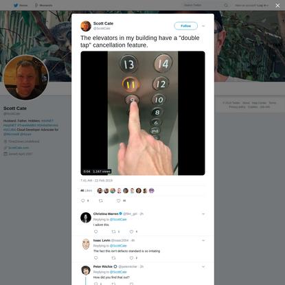Scott Cate on Twitter