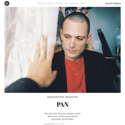 Design Matters: Pan label