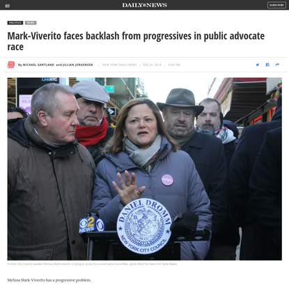 Mark-Viverito faces backlash from progressives in public advocate race