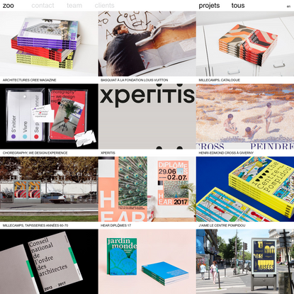Zoo, designers graphiques