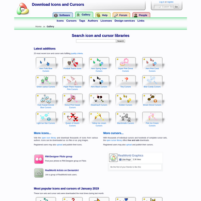Download Icons and Cursors