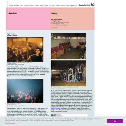 db artmag - all the news on Deutsche Bank Art / db artmag - alle Infos zur Kunst der Deutschen Bank