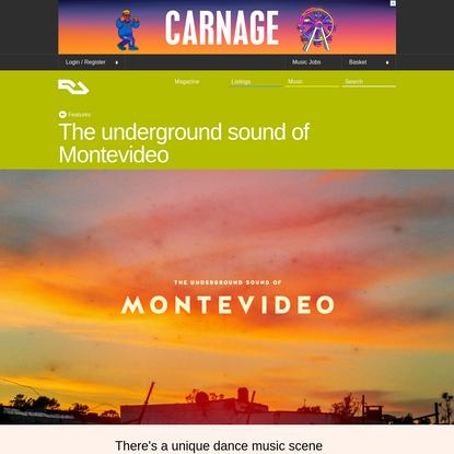 The underground sound of Montevideo