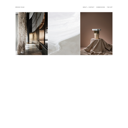 brooke holm new york photographer interior architecture still life fine artist