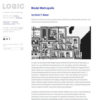 Model Metropolis