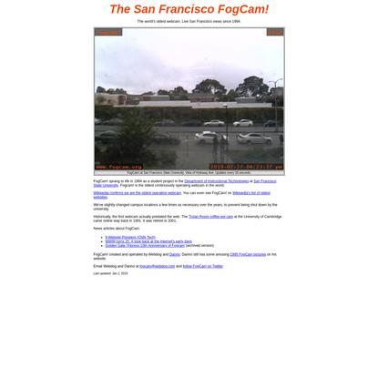 FogCam - The World's Oldest Webcam