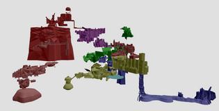 dark souls collision map online