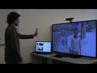 A demonstration of the IMMERSE system for social skills training