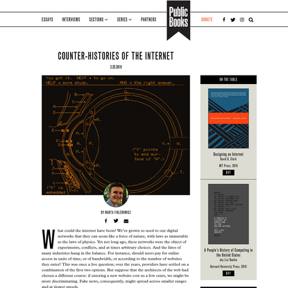 Counter-histories of the Internet