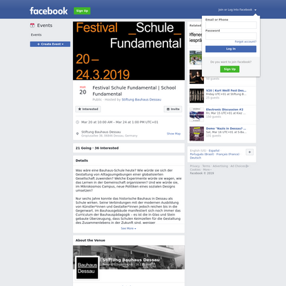 Festival Schule Fundamental | School Fundamental