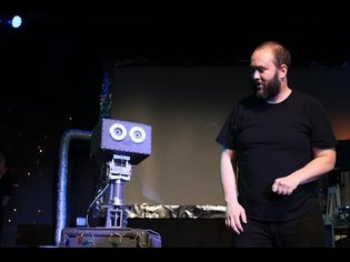 BOT PARTY Fusebox Festival robot human improv