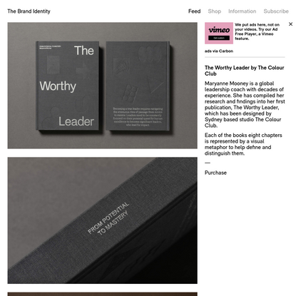 The Worthy Leader by The Colour Club - The Brand Identity