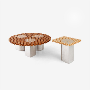 Vonnegut / Kraft - Sonia Side Table and Coffee Table