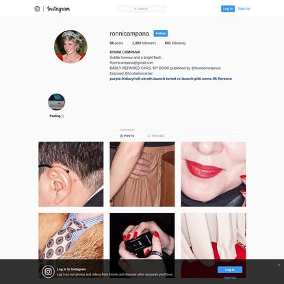 RONNI CAMPANA (@ronnicampana) * Instagram photos and videos