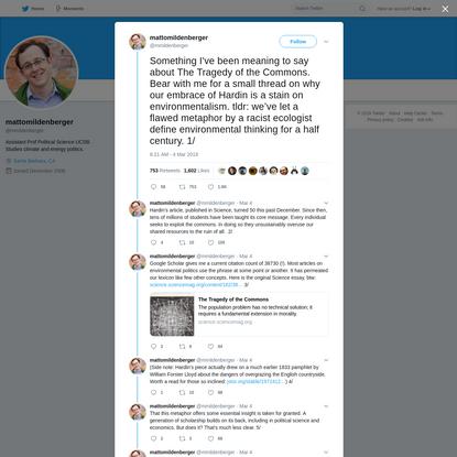 mattomildenberger on Twitter
