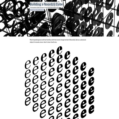 LettError Type and Typography