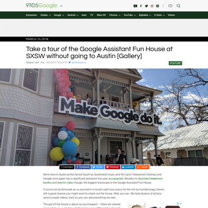 Take a tour of the Google Assistant Fun House at SXSW without going to Austin [Gallery]